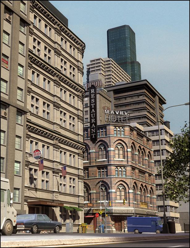 Urban Sprawl 2 The Big City by: Stonemason, 3D Models by Daz 3D
