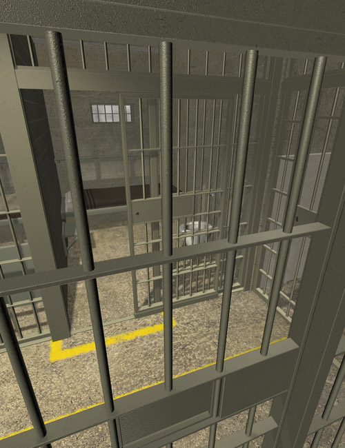 Interiors 4 The Jail by: maclean, 3D Models by Daz 3D