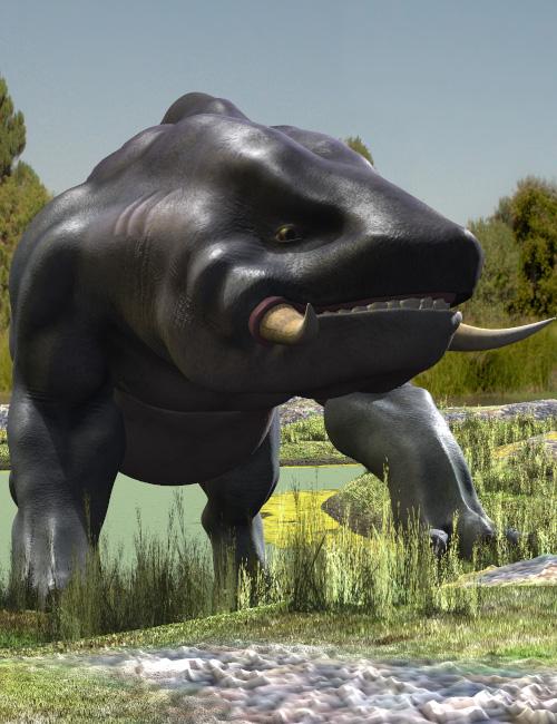Behemoth by: Valandar, 3D Models by Daz 3D