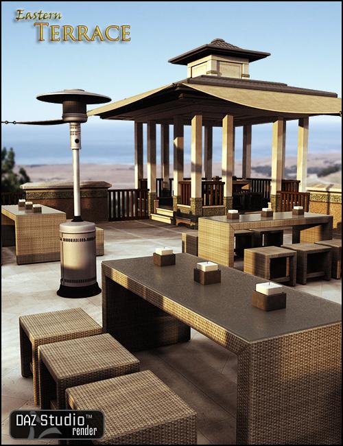 Eastern Terrace by: , 3D Models by Daz 3D