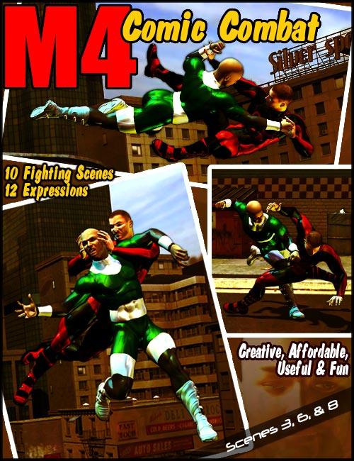 Michael 4 Comic Combat by: , 3D Models by Daz 3D