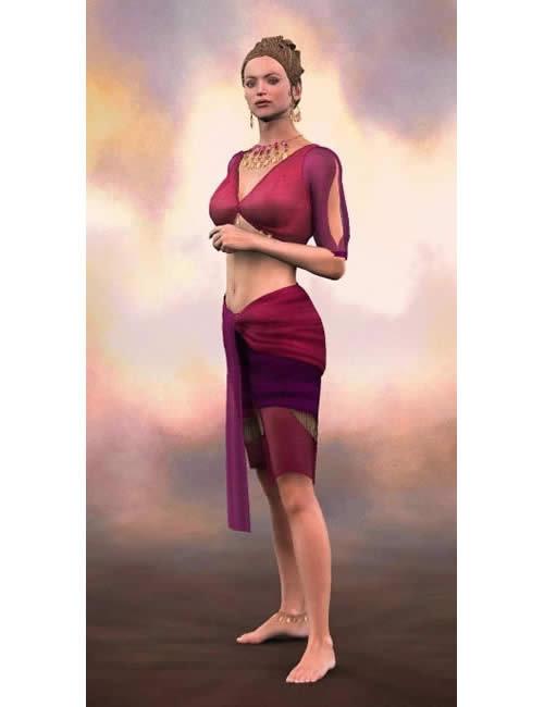 Cyclorama: Portrait Paper Backdrops by: , 3D Models by Daz 3D
