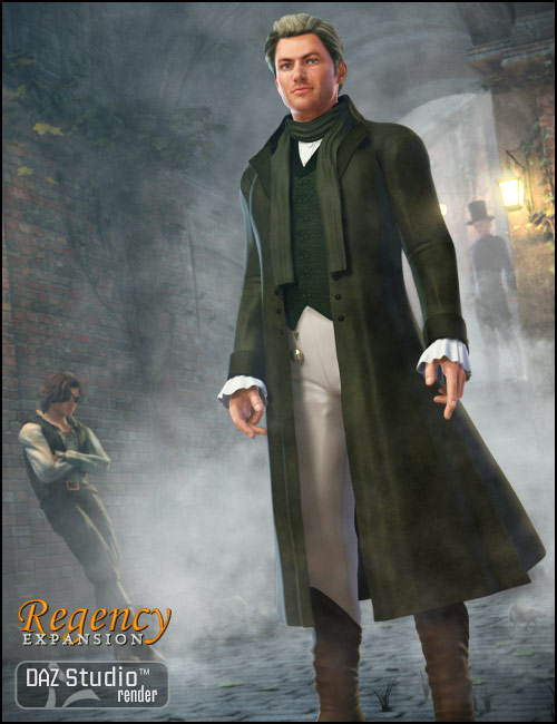 Regency for M4 Expansion by: Ravenhair, 3D Models by Daz 3D