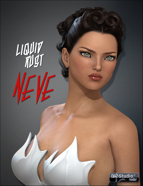 Neve for V4 by: Liquid Rust, 3D Models by Daz 3D