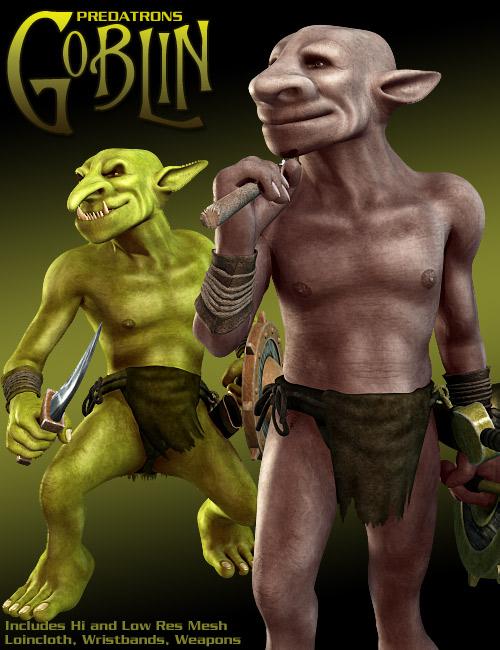 Predatron's Goblin by: Predatron, 3D Models by Daz 3D