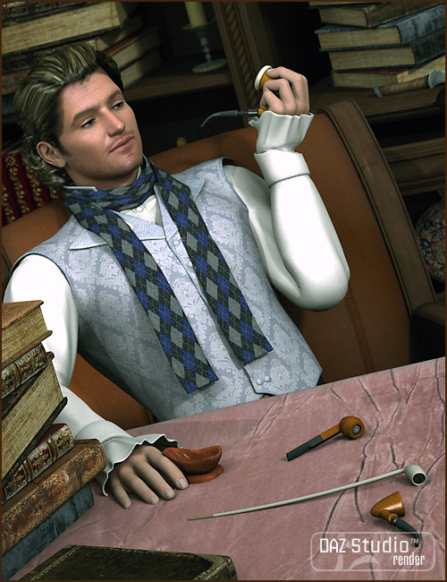 Classic Pipe Collection by: blondie9999, 3D Models by Daz 3D