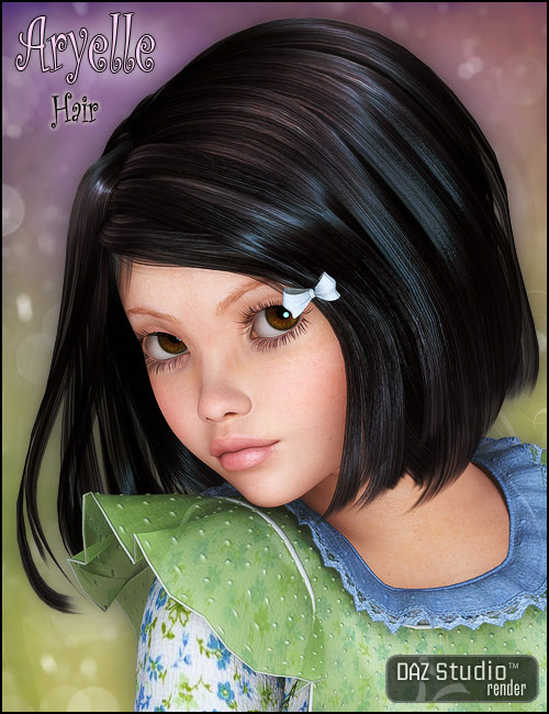 Aryelle Hair by: CountessPropschick, 3D Models by Daz 3D