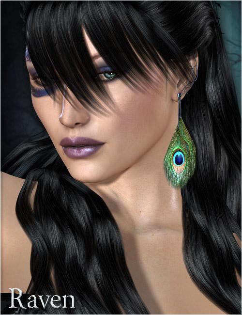 Raven Princess Of The Night by: Raiya, 3D Models by Daz 3D