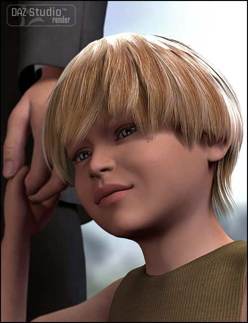 Mark for The Kids 4 by: , 3D Models by Daz 3D