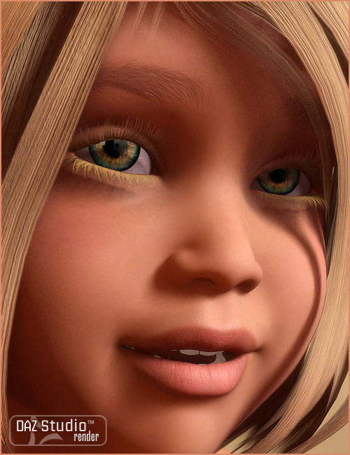 Marissa for The Kids 4 by: , 3D Models by Daz 3D