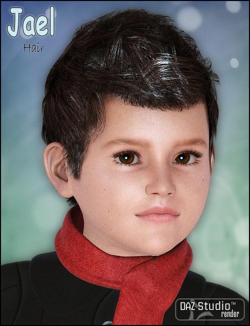 Jael Hair by: Neftis3D, 3D Models by Daz 3D