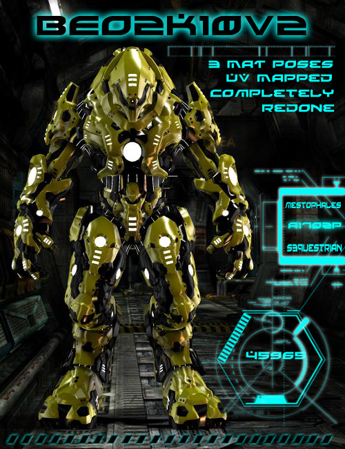 BEO2K10 v2 by: mighty_mestophalesSequestrian, 3D Models by Daz 3D