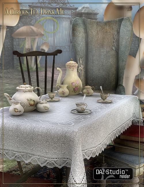 A Curious Tea: Drink Me by: LaurieS, 3D Models by Daz 3D