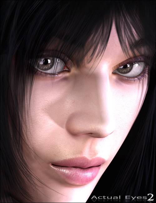 Actual Eyes 2 by: MindVision G.D.S., 3D Models by Daz 3D