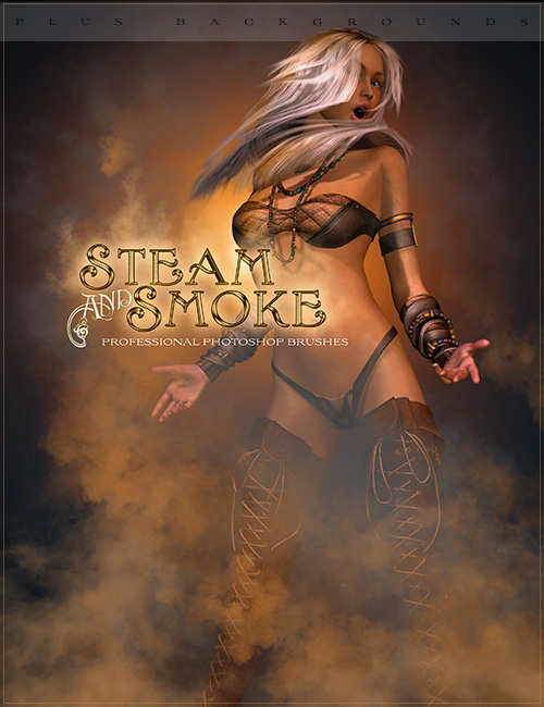 Ron's Steam and Smoke by: deviney, 3D Models by Daz 3D