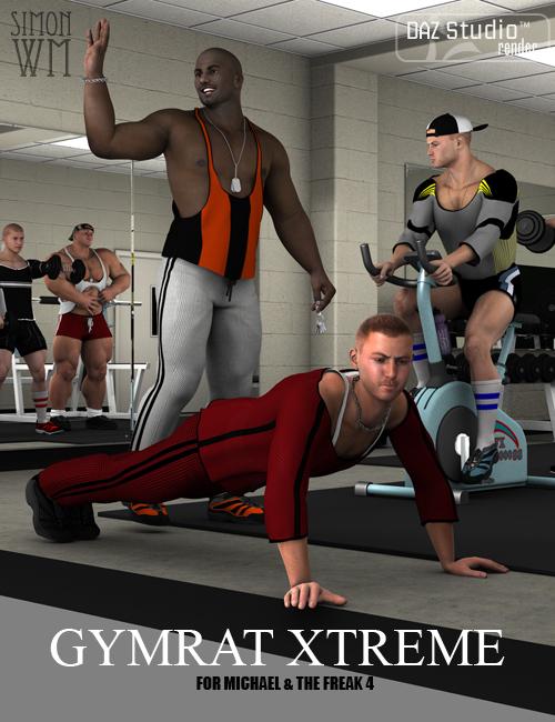 Gymrat Xtreme by: SimonWM, 3D Models by Daz 3D