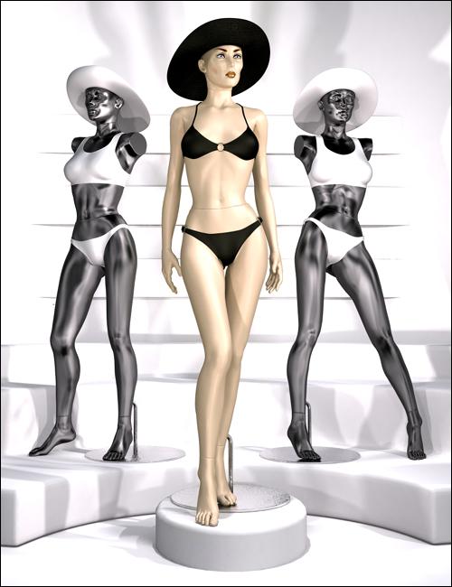 V4 Mannequin by: MindVision G.D.S., 3D Models by Daz 3D