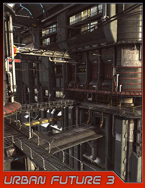 Urban Future 3 by: Stonemason, 3D Models by Daz 3D