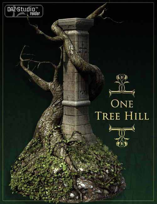 One Tree Hill by: Stonemason, 3D Models by Daz 3D