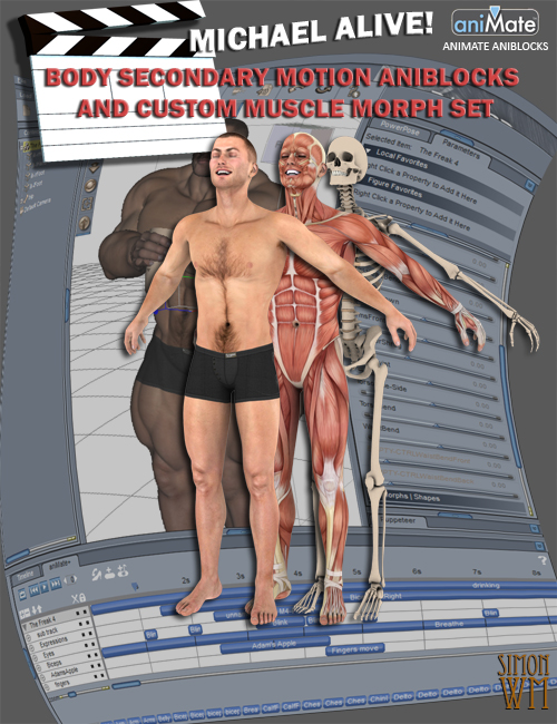 Michael Alive! by: SimonWM, 3D Models by Daz 3D