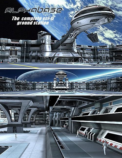 Alphabase by: Kibarreto, 3D Models by Daz 3D