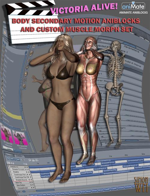 Victoria Alive by: SimonWM, 3D Models by Daz 3D