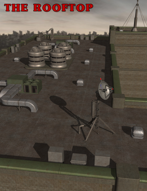 The RoofTop by: Nightshift3D, 3D Models by Daz 3D
