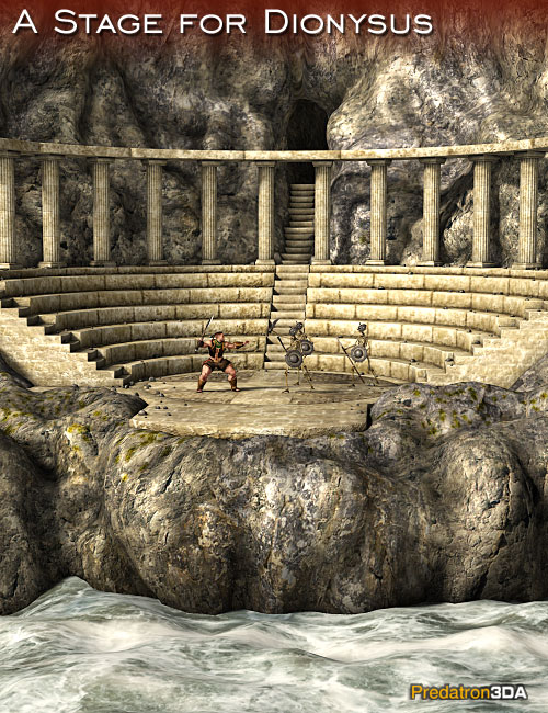 A Stage for Dionysus by: Predatron, 3D Models by Daz 3D