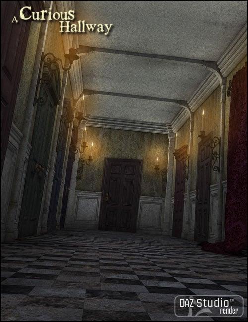 A Curious Hallway by: Jack Tomalin, 3D Models by Daz 3D