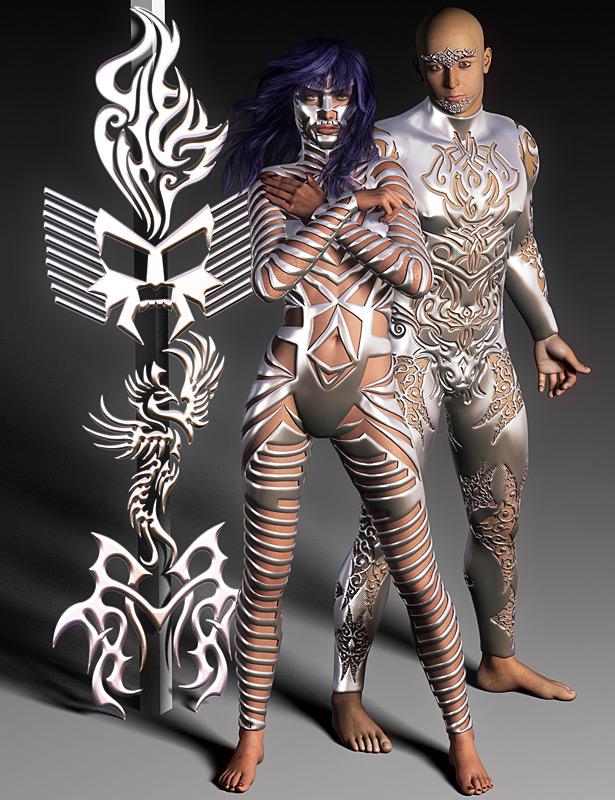 Jepe's Body Jewels 2 by: Jepe, 3D Models by Daz 3D