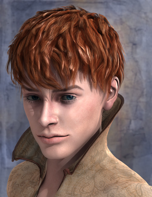 Gabriel Hair by: AprilYSH, 3D Models by Daz 3D