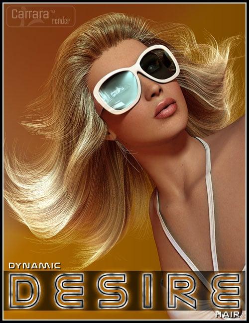 Dynamic Desire Hair by: 3DCelebrity, 3D Models by Daz 3D