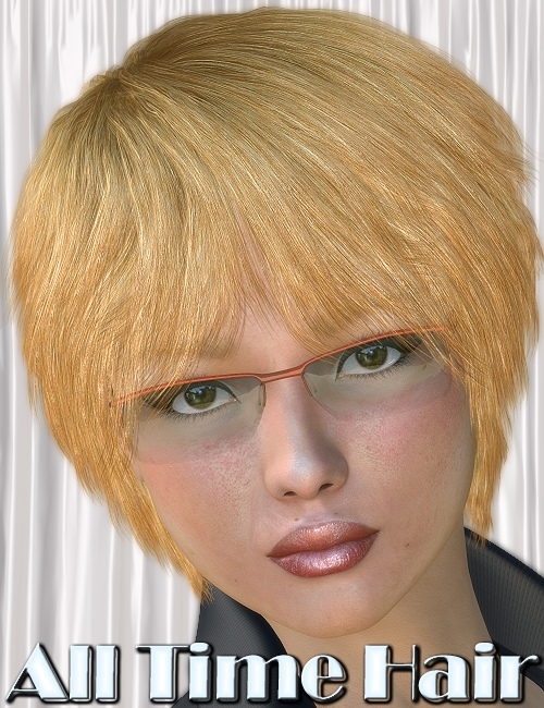 All Time Hair by: 3DreamMairy, 3D Models by Daz 3D
