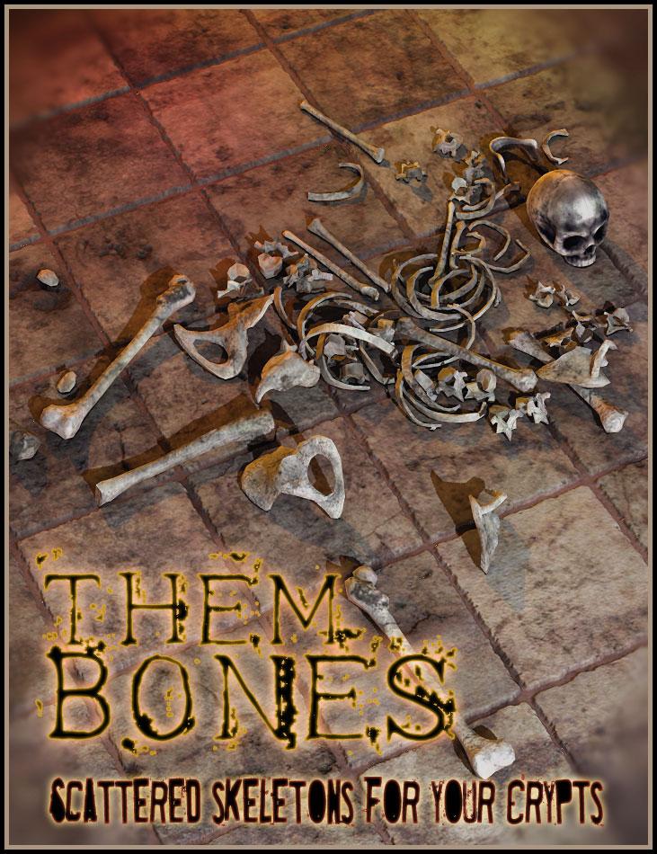 Them Bones by: Orestes Graphics, 3D Models by Daz 3D
