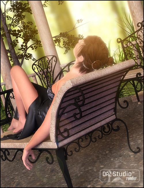 Garden Escape Patio Furniture by: ARTCollab, 3D Models by Daz 3D
