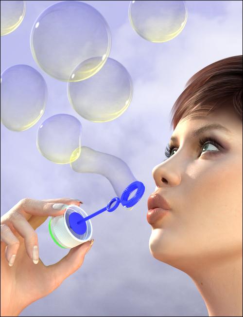 3D Bubbles by: MindVision G.D.S., 3D Models by Daz 3D