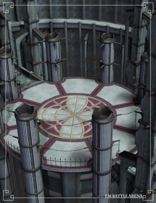 Battle Arena by: Flipmode, 3D Models by Daz 3D
