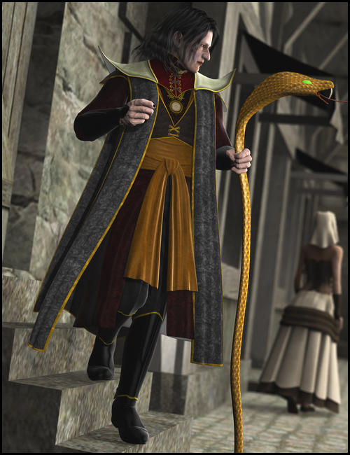Evilson for M4 by: Ravenhair, 3D Models by Daz 3D
