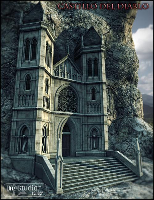Castillo del Diablo by: Jack Tomalin, 3D Models by Daz 3D