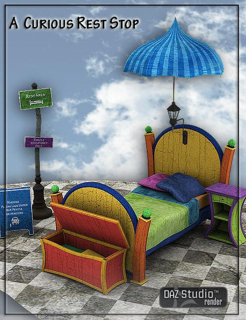 A Curious Rest Stop by: LaurieS, 3D Models by Daz 3D