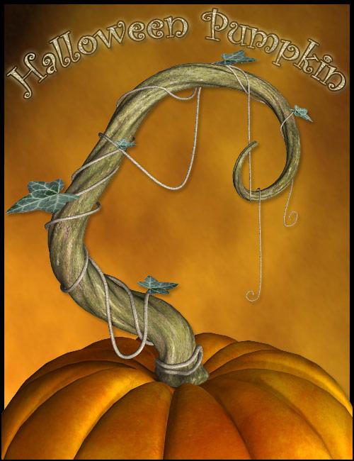 Halloween Pumpkin by: ForbiddenWhispersFWDesign, 3D Models by Daz 3D