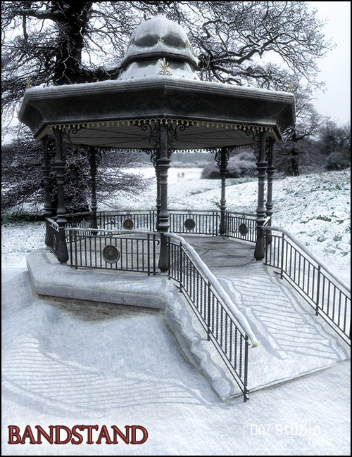 Bandstand by: Jack Tomalin, 3D Models by Daz 3D