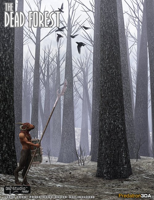 The Dead Forest by: Predatron, 3D Models by Daz 3D