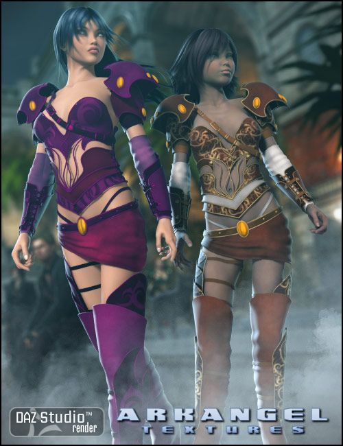 Textures for Arkangel by: , 3D Models by Daz 3D