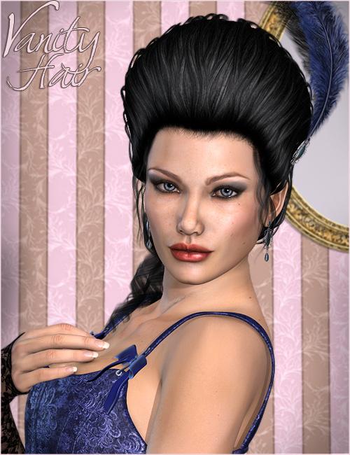 Vanity Hair by: Valea, 3D Models by Daz 3D