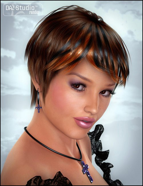 Tequila Hair by: , 3D Models by Daz 3D