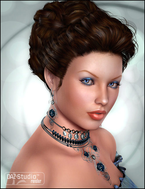 Isabel Hair by: goldtasselPropschick, 3D Models by Daz 3D