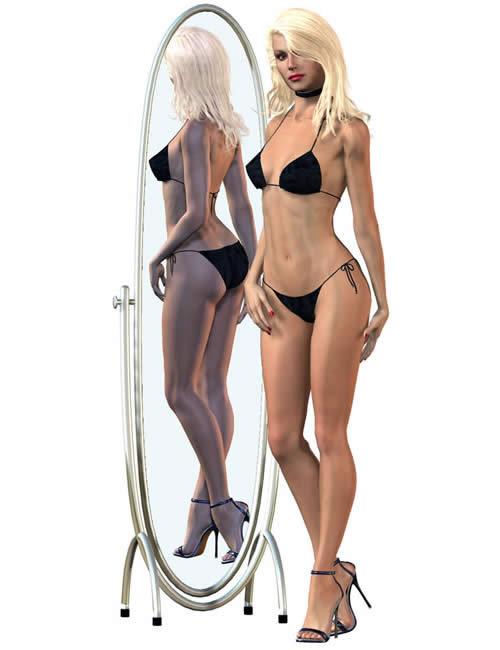 Glamorous Vicki Set for Victoria 3.0 by: Jim Burton, 3D Models by Daz 3D