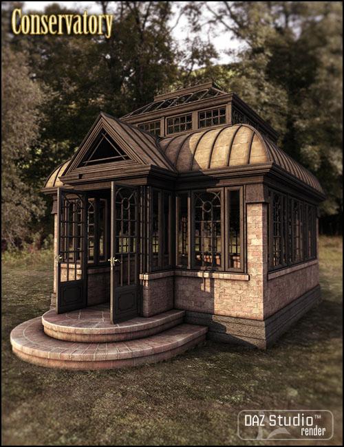 Conservatory by: Jack Tomalin, 3D Models by Daz 3D
