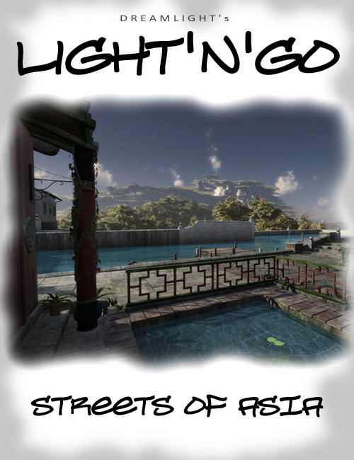 Light n' Go - Streets Of Asia by: Dreamlight, 3D Models by Daz 3D